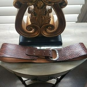 Brave Accessories - Wide leather belt